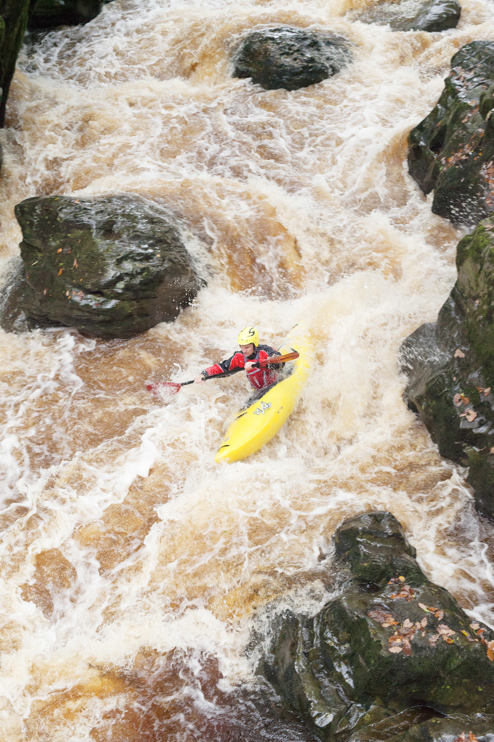 Tom Kayaking Rapids
